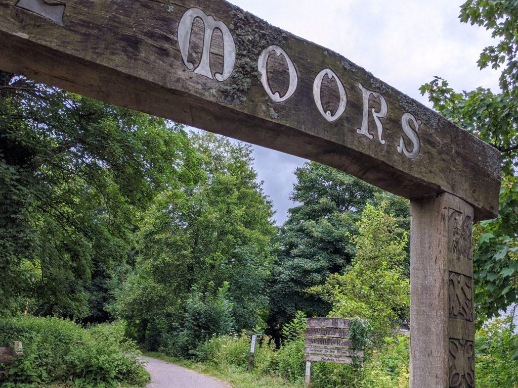 Entrance Gate Winnall Moors Wildlife Reserve
