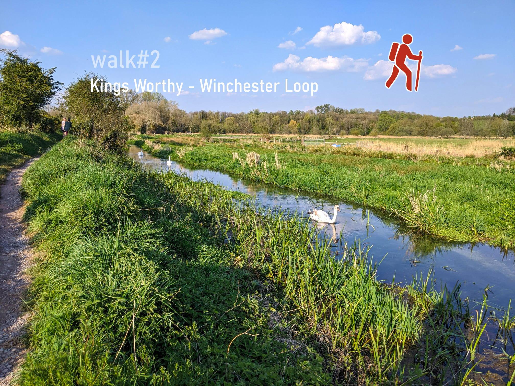 Kings Worthy - Winchester loop