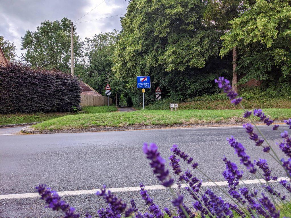 Junction of Littleton Lane and Main Road, Littleton