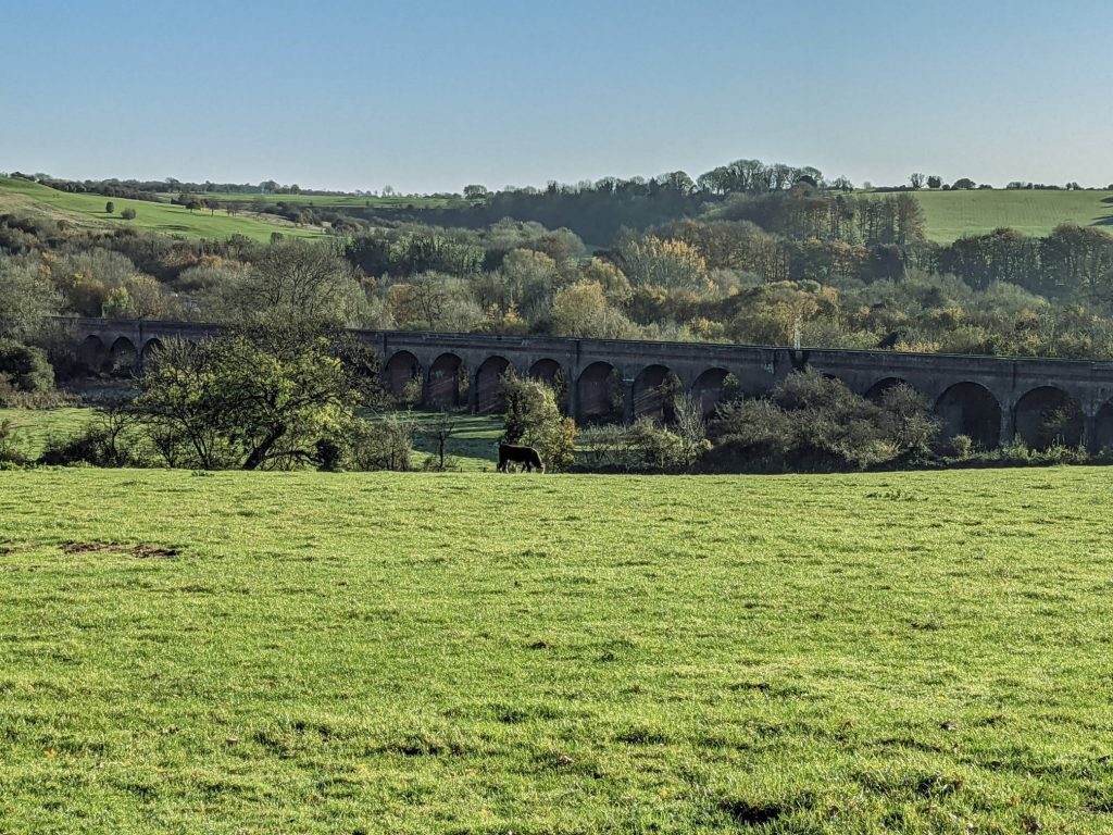 Hockley viaduct from the South West