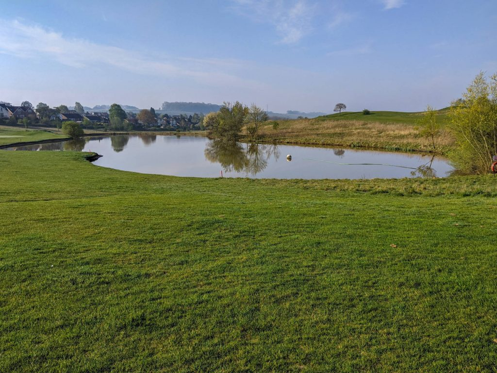 Lake at Golf course