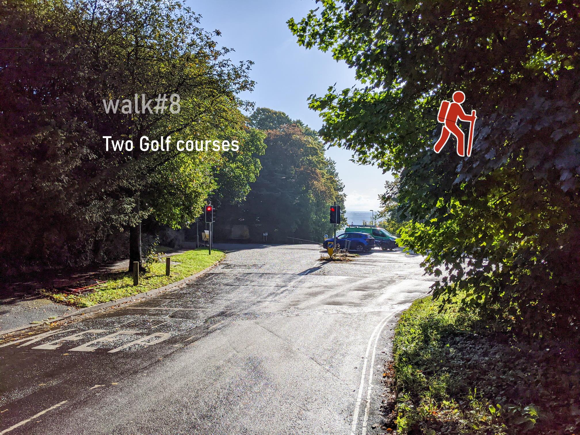 walk 8 - Golf courses