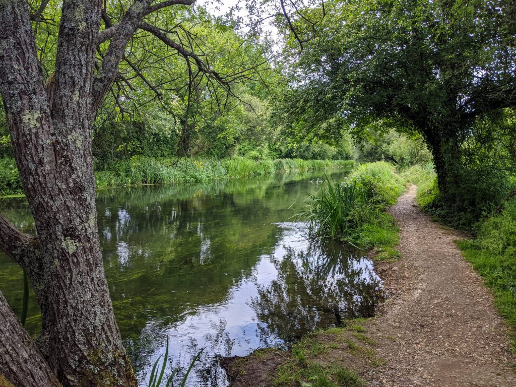 footpath by the river