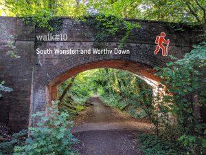 walk #10 - South Wonston and Worthy Down