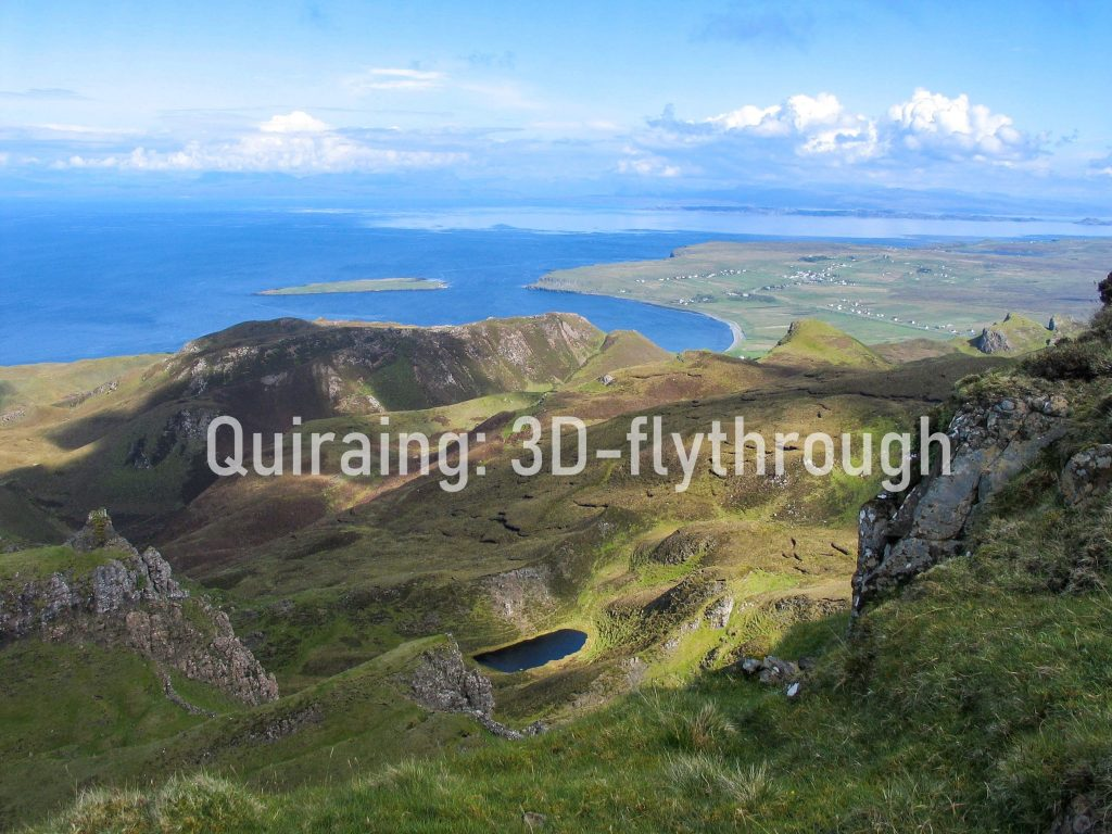 Quiraing feature - 3D fly-through