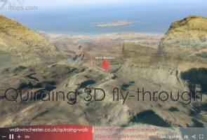 Quiraing 3D fly-through