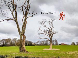 Farley church across field