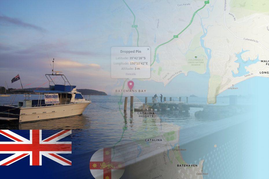 OS Maps Australia Batemans Bay