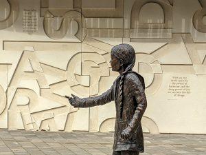 Greta Thunberg statue