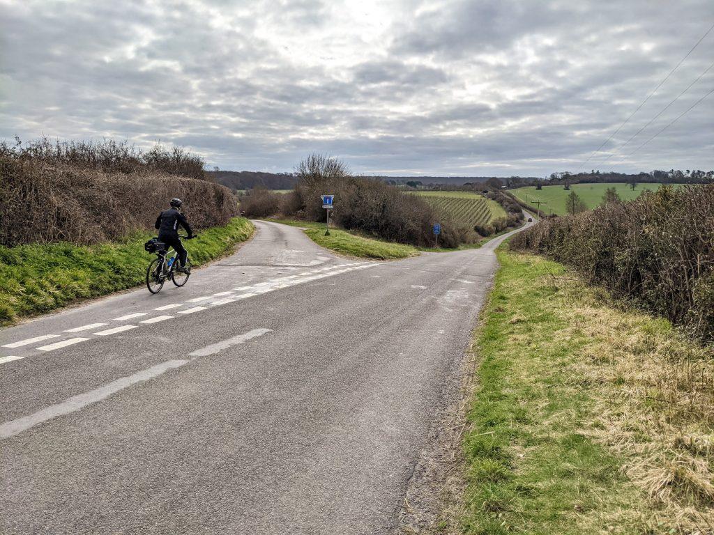 veer left towards Hoplands