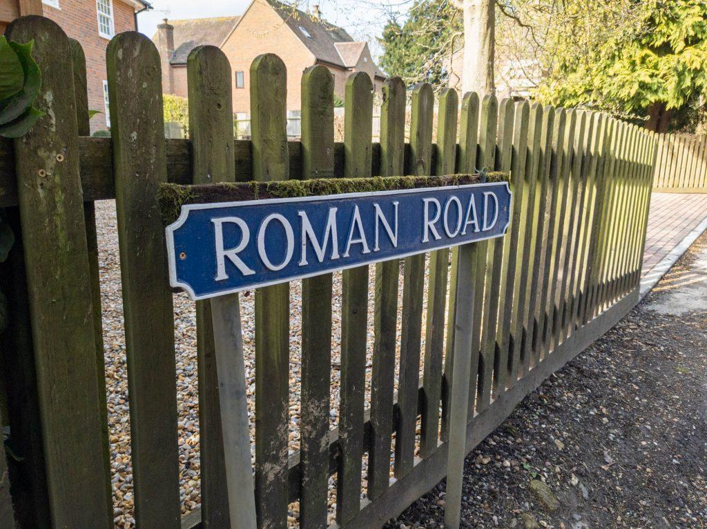 Roman Road in Middle Winterslow