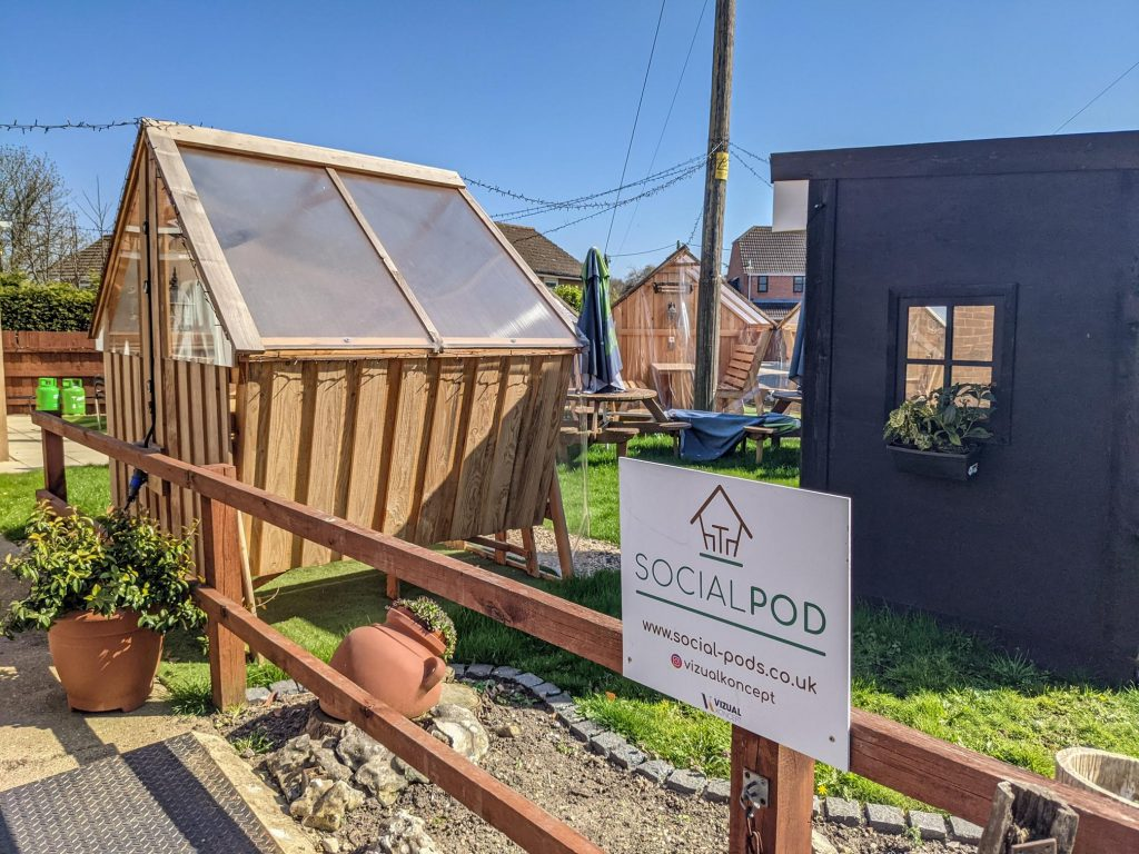 Social Pods at Lord Nelson Arms