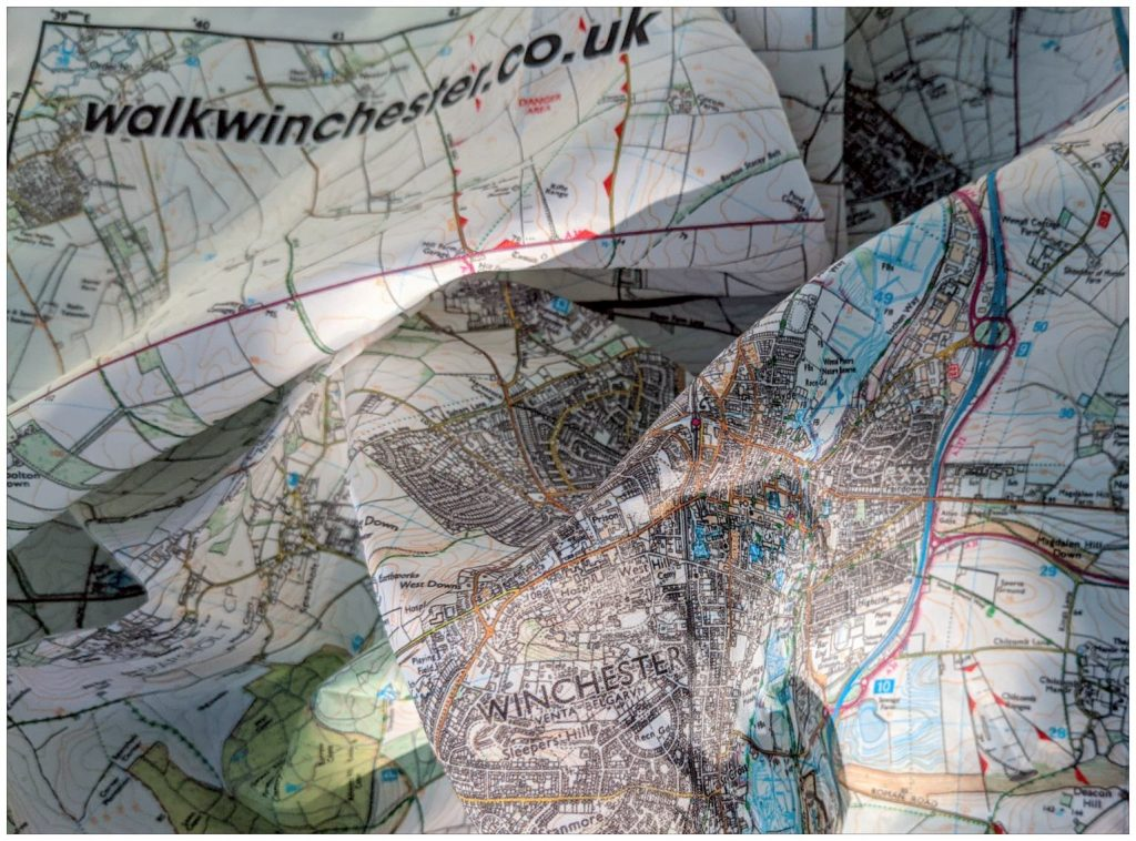 Winchester fabric map