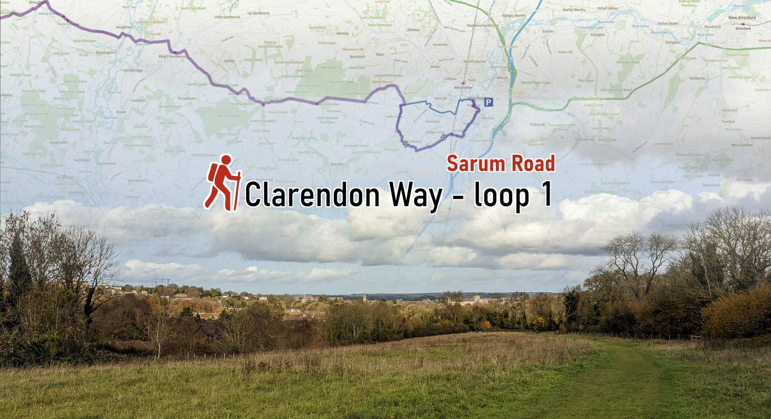 Clarendon Way loop 1