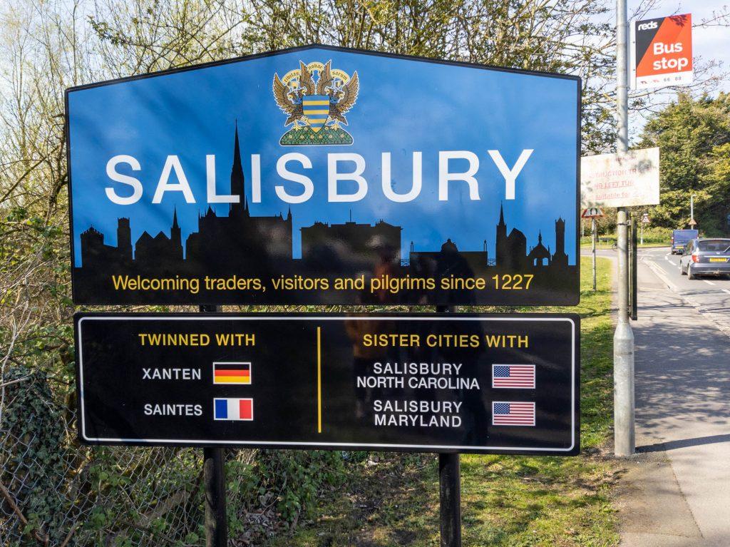 Arriving in Salisbury