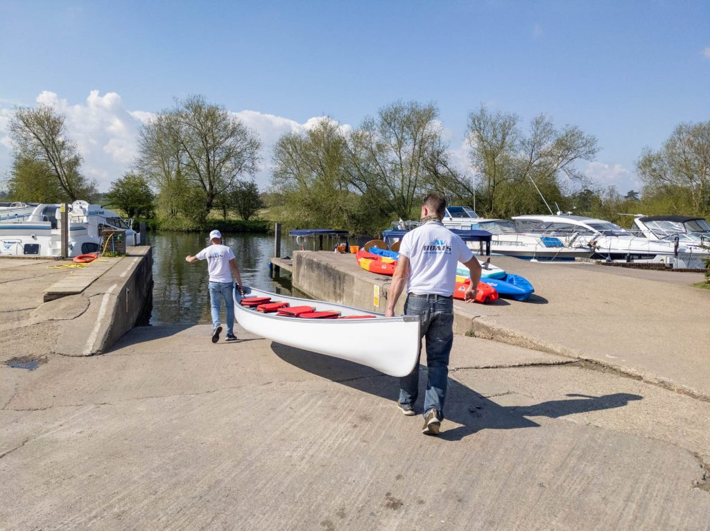 5 seater canoe