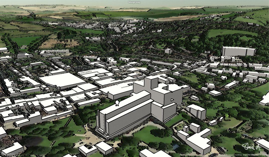 Manga Map Winchester screenshot